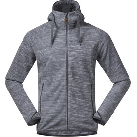 Bergans Hareid Fleece Jacket Men Aluminium Melange